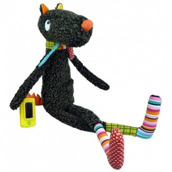 Bardzo duża edukacyjna zabawka Trendy Mister Wilk 65cm, Ebulobo